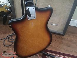 1965 Silverton Electric Guitar