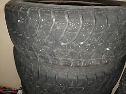 4 235 65 17 winter tires on steel rims