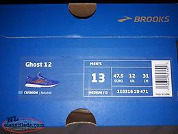 New in Box! Brooks Limited Edition Ghost 12 MEN'S Sneakers Sz 13