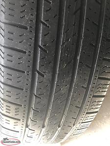 All season tires and rims.