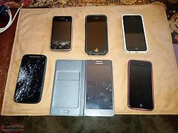 Broken cell phones for parts