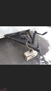 6x12 aluminum trailer double axel with brakes