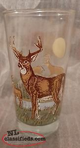 Collection of Irving Wildlife glasses from 1986/87