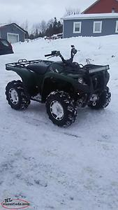 2012 Yamaha Grizzly 700