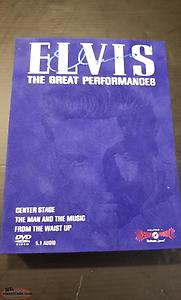 Elvis The Great Performances dvd box set