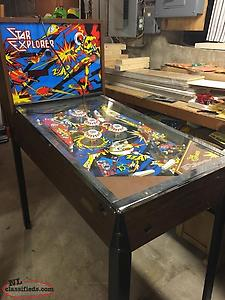 WANTED STAR EXPLORER PINBALL