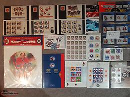 """Canadian Hockey"" Stamp Collection"