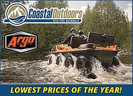 Lowest prices of the year on ARGO at Coastal Outdoors
