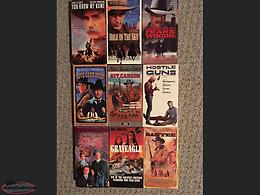 24 Western VHS Movies