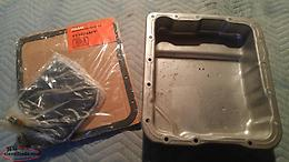 Transmission Oil Pan, and filter 700R4 or 4L60E