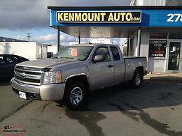 2007 Silverado 1500 Ext Cab, 4.8V8 Auto, ''Floor Shift 4x4'' w/Full MVI