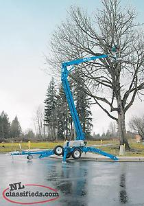 PRICE REDUCED: GENIE 50' Towbehind Man Lift