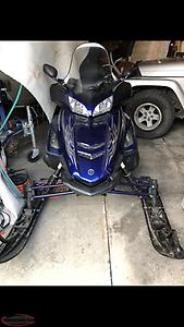 PRICED REDUCED! 2006 RS Venture 1000 Yamaha Snowmobile