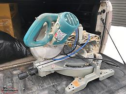 10 Inch Makita Duel Bevel Sliding mitre Saw