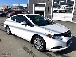 2012 Honda Civic Coupe$7995 Safety Inspected