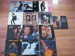 For Sale 13 Stereo Laser Video Disc's