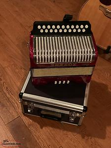 Hohner Erica Accordion Keys G&C