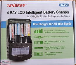 4 Bay battery charger