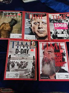 Vintage TIME magazines 20 each obo