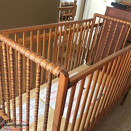 Baby Crib and Pack and Play (playpen)