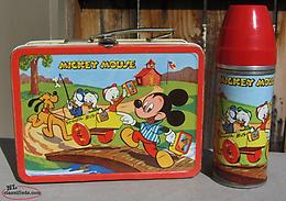 Wanted 1954 Mickey Mouse Lunch Box