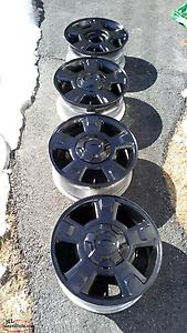 Ford F150 17 Inch Alloy Rims and Sensors