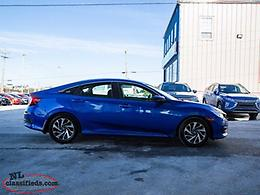 2016 Honda Civic Sedan EX CVT - $143 B/w Taxes in!