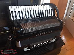 Excelsior Full Size 120 Bass Piano Accordion
