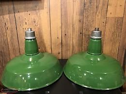 Vintage Gas Station/industrial Lights