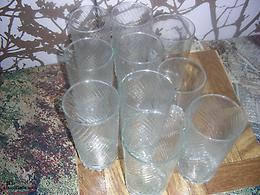 Tumbler drinking glasses