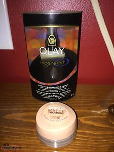 Olay and maybelline