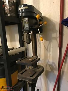 "8"" Drill Press and Pedestal"