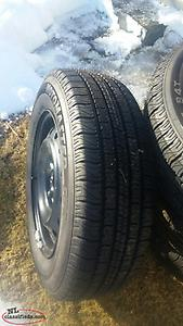 Motormaster SE Tires On Rims(205/65/15)