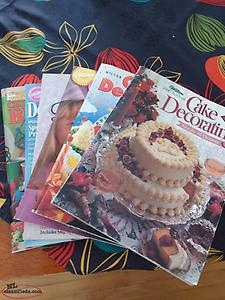 Cake decorating books for sale