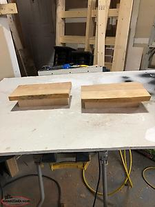 Live Edge Shelf's