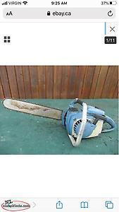 Looking For Old Chain Saws