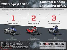 2021 Snowcheck Select. Create yours now.