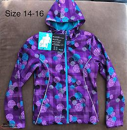 New With Tags Attached Girls Lined Coat