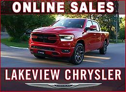 ONLINE SALES AT LAKEVIEW CHRYSLER