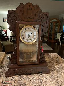 Handmade Mantle Clock