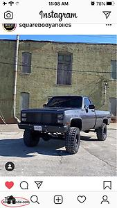 Looking For Square Body