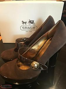 Ladies Coach Brand shoes