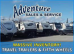 Camping in style with Adventure Sales & Service
