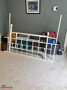 Vintage Iron Day Bed Frame (double)