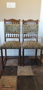 2 Antique Eastlake Parlor Chairs