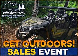 WISEMAN'S GET OUTDOORS SALES EVENT!