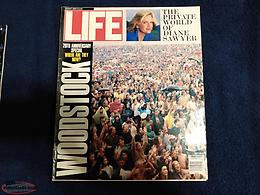 LIFE Magazine - 20th Anniversary of Woodstock (Aug, 1969 - Aug, 1989)