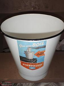 old slop / honey bucket new /old stock