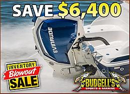 Evinrude Inventory Blowout Sale! Save up to $6,400 while quantities last!
