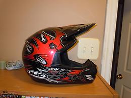 HELMET YOUTH MEDIUM RED